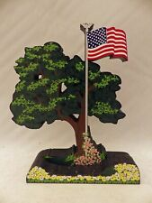 Shelia's Collectibles - Celebrate America - a Custom piece w/Flag - part # C0086