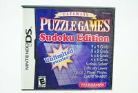 Ultimate Puzzle Games Sudoku Edition: Nintendo DS [Brand New]