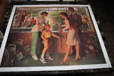 Rare Shriners Therapeutic Hospital Print by William (Bill) Medcalf Signed 22 X25