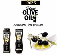 Ors Black Olive Oil Repair 7 Sulfate-Free Shampoo And Conditioner