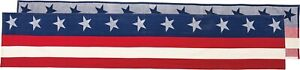 Patriotic Table Runner Stars & Stripes #1436