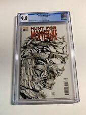 Hunt For Wolverine 1 Cgc 9.8 Sketch Cover Variant Marvel Comics