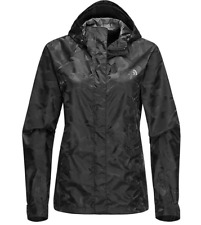The North Face Women's Novelty Venture Hooded Jacket Black Camo  XL NWT Ret $120