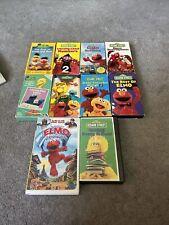 Sesame Street VHS Lot