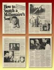 Peugeot Family Eric Kidnap Gang Inspector Guy Denis Old Article