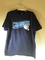 Reebok San Diego Chargers Football Club T-Shirt XL Blue