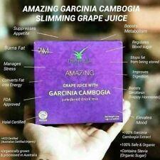 Amazing Garcinia Cambogia Slimming Grape Juice Powder 10packs per box Fat buster