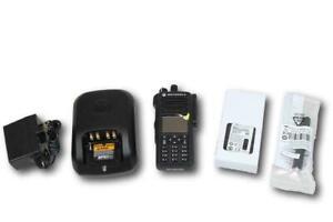 NEW Motorola Mototrbo XPR7550e UHF 403-470MHz Color Display Digital Portable