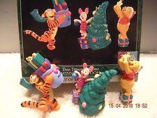 Hallmark Ornament - Tree Trimmin Time Winnie  the Pooh set of 3  1998