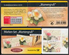 """Bund Markenheftchen 55 a gest. """"Blumengruß"""" 2004 Vollstempel Schwanewede"""