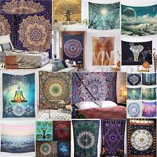 India Bohème Tenture Tapisserie Tapis Blanket Murale Hippie Mandala Couvre-lit