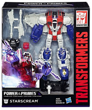 TRANSFORMERS POWER OF THE PRIMES VOYAGER CLASS DECEPTICON STARSCREAM