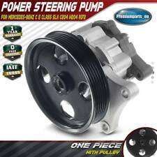 Power Steering Pump for Mercedes-Benz C Class E Class SLK C204 W204 S204 R172