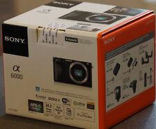 Sony a 6000 *alpha 6000*Gehäuse schwarz * NEU * mit 2.FW 50 vom Sony Fachhändler