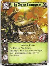 Warhammer 40000 Conquest LCG - Big Shoota Battlewagon #124 - Descendants of Isha