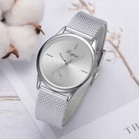 Lvpai Women's Casual Quartz Silicone Strap Band Watch Analog Alloy Wrist Watch