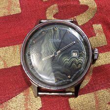 Vintage Russian USSR ☭ Very Nice Rare Dial Watch SLAVA  21 Jewels