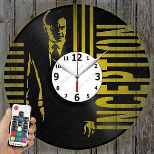 LED Clock Inception Vinyl Record Clock Art Decor Original Gift 4535