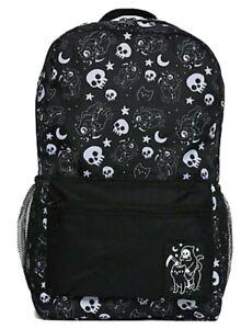 Grim Reaper On Cat Backpack Nee