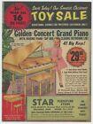 FAIRLY RARE - 1957 Xmas Toy Catalog - Columbus OH Ohio - Star Furniture Store