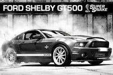 SHELBY MUSTANG - GT500 SUPERSNAKE POSTER 24x36 - SPORTS CAR FORD 33820
