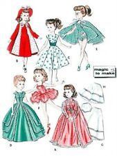 "VINTAGE 18"" REVLON, CISSY DOLL CLOTHES Pattern 8354"