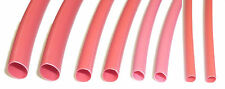 RED Heat Shrink Heatshrink Tube 2.4mm - 6.4mm Assorted sizes 2:1 RATIO