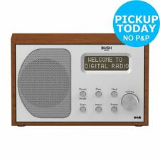 Bush Retro Wooden DAB/FM Radio.