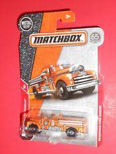 MATCHBOX SEAGRAVE FIRE ENGINE 17/30 MBX RESCUE 2017