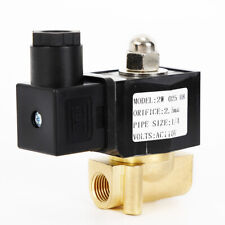 14npt Electric Solenoid Valve Brass 110 Volt Normally Closed For Air Water Gas
