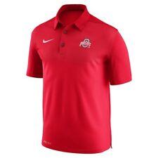 New w tag Nike Mens short sleeve Ohio State elite Coaches sideline Polo shirt