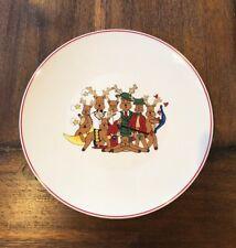 "LTD Commodities Large Reindeer Plate Platter Christmas Holiday 12 3/4"""
