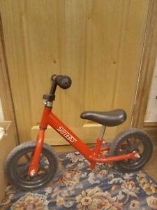 Toddler kids Red Trax balance bike used age 3-4