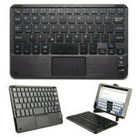 Ultra Thin Mini Wireless Bluetooth Keyboard w/ Touchpad for iOS Android Windows