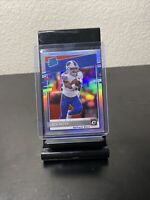 2020 Donruss Optic Zach Moss Silver Holo Rated Rookie RC SP Bills RB