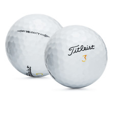 48 Titleist Velocity Used Golf Balls / Perfect Mint AAAAA / Free Shipping