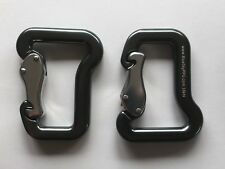 Paraglider Carabiners Pair Paragliding - Aluminum 18kN