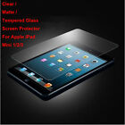 New Tempered Glass / Clear / Matte Film Screen Protector For iPad Mini 1/2/3 Lot