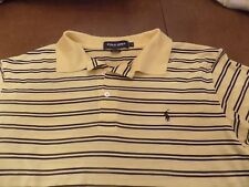BRICKYARD CROSSING POLO GOLF BY RALPH LAUREN CHEST & SLEEVE LOGOS SIZE L