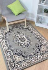 Tapis persans/oriental traditionnel gris en polypropylène pour la maison