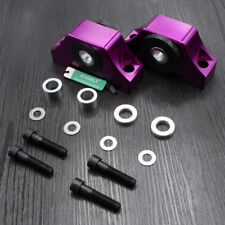 Billet Motor Torque Mounts Kit Fit Honda Civic EG EK D16 B16 B20 92-00 Purple