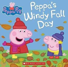 Peppa Pig: Peppa's Windy Fall Day by Inc. Staff Scholastic (2015, Picture Book)