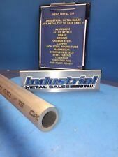 "1"" OD x 12""-Long x 3/16"" Wall 6061 T6511 Aluminum Round Tube->1"" OD x .187"" Wall"