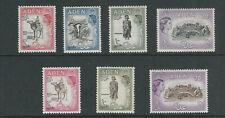 Aden 1953-59 7 De 8 Haute Valeurs (Court 5sh Sépia ) MNH / Mlh Veuillez Lire