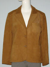 Leo Chevalier Size S-M Brown Ultrasuede Blazer