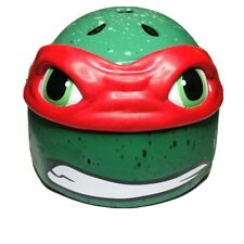 Teenage Mutant Ninja Turtles Raphael 3D Bike Helmet Bell Ages 5+ Size S 50-54 cm