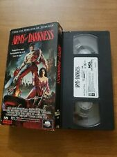 Army of Darkness (Vhs, 1992) Evil Dead 3 Bruce Campbell Sam Raimi