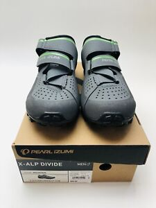 Pearl Izumi 15191901 Mens X-Alp Divide Mountain Cycling Cleats US 9.5 EUR 43
