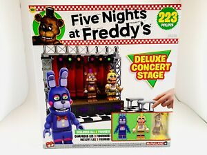 Five Nights at Freddys Deluxe Concert Stage FNAF McFarlane Toys Construction Set
