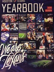 2019 HOUSTON TEXANS YEARBOOK PROGRAM 2020 SUPER BOWL 54 ? NFL J.J. WATT